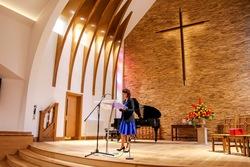 Pastor Mary Barrett