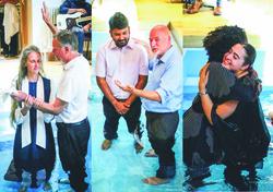 Three baptisms
